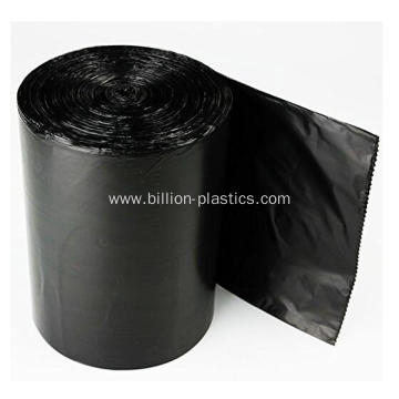 Strong Star Seal Trash Bag in Black