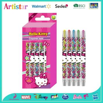 HELLO KITTY 5 Crayones twist