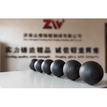 Zhong wei casted grinding  steel ball
