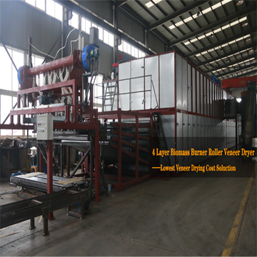 High Capacity Biomass Veneer Dryers