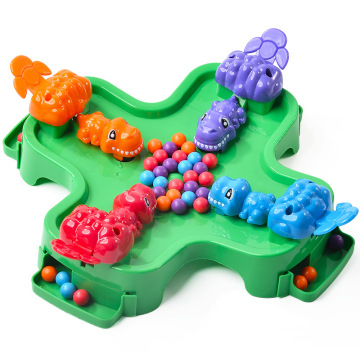 Children dinosaur eating Beans Fun Toys broad games family games baby interactive game 2~4 players 3Y+