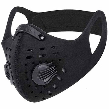 Neoprene Sports Half Face Carbon Dust Proof Mask
