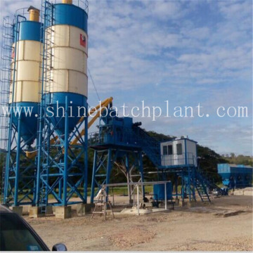 90 Wet Portable Cement Mixing Plant
