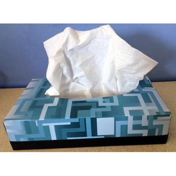 100% Virgin Pulp facial box tissue