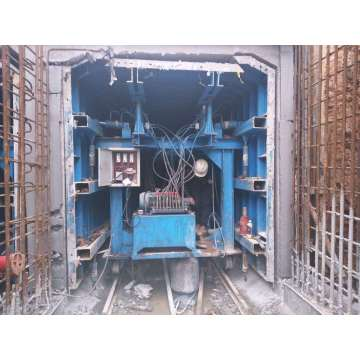 Simple Tunnel Trolley Formwork System