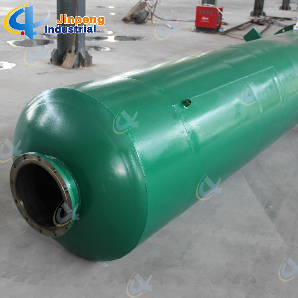Environmental Waste Plastic Recycle Pyrolysis Gas Oil