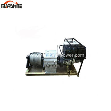 3t Faster Air Cooling Gasoline Engine Powered Winch