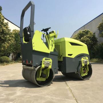 Steering flexible XGMA ride on double cylinder road roller 3000KG