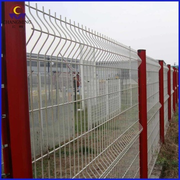 3D Polyester Curvy Welded Mesh Panel Fencing