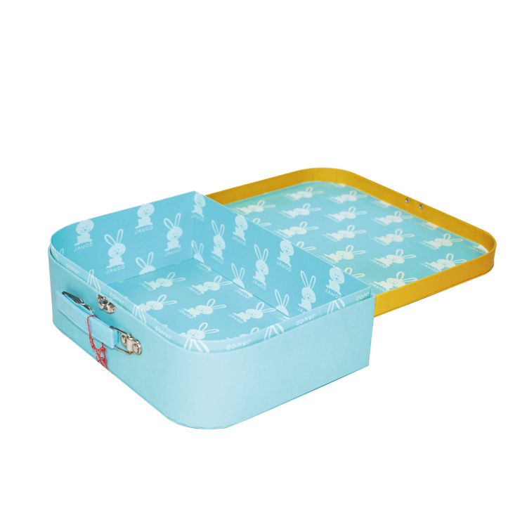 Children Paper Suitcase  With Carton Printing