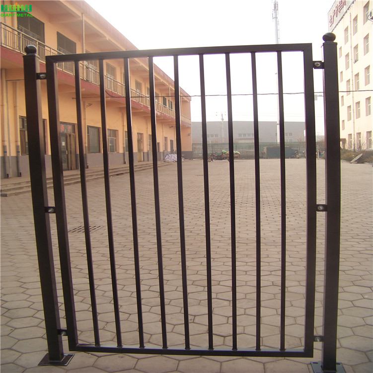 Powder Coated Wrought Iron Fence