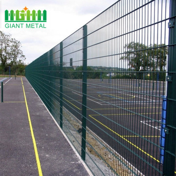 PVC Coated Hot dipped Galvanized Double Wire Fence Panels for Airports Military