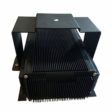 Aluminium Extrusion Anodised Light Power Box