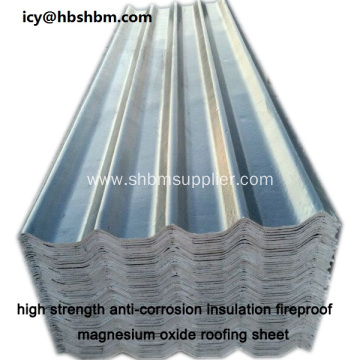 High Strength Anti-corrosion MGO Roofing Sheet Prices
