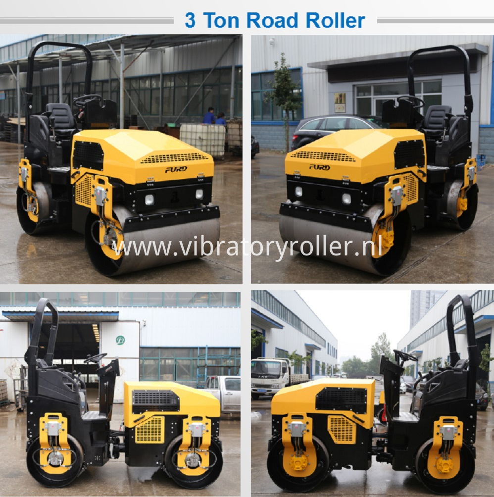 Small Asphalt Compactor Machine