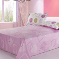 Cotton Percale Printed Bed Sheets