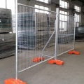 outdoor used metal mesh temporary fence