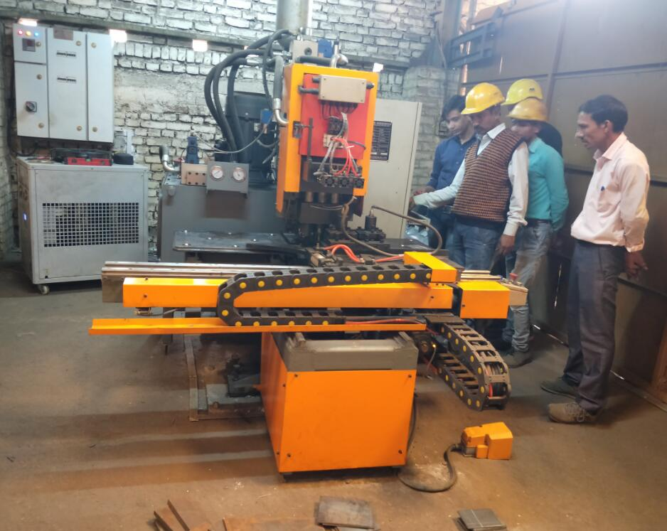 High Speed Steel Sheet Punching Marking Machine