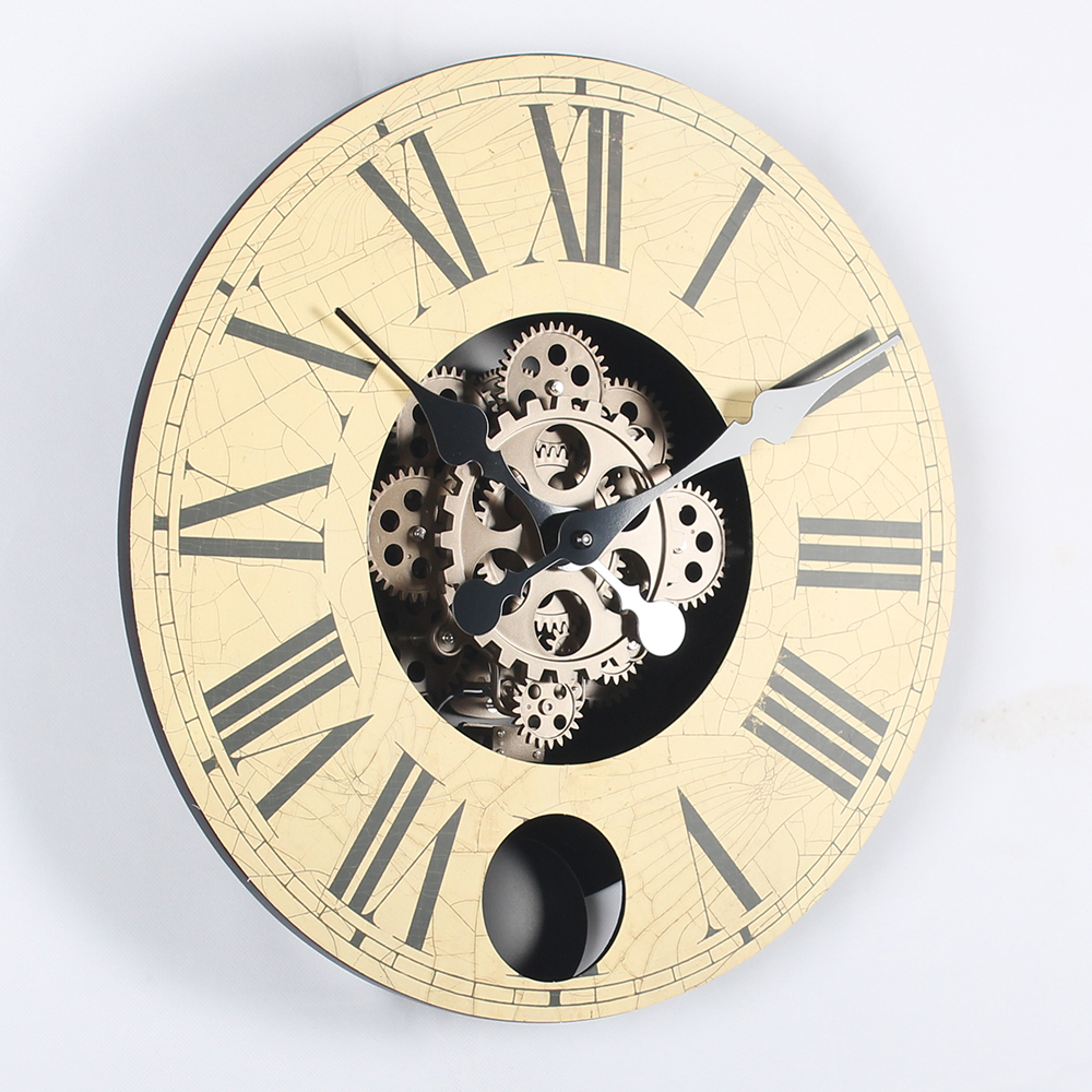 howard miller brass mantel clock