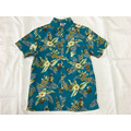 Polyester print hawaiian shirt