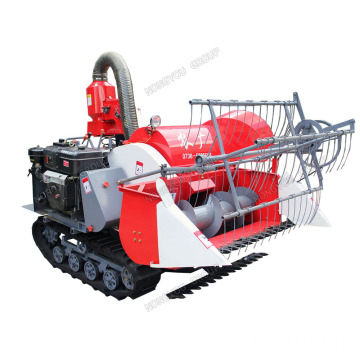 Harvester Combine Mini Wheat Harvester 4LZ-0.8