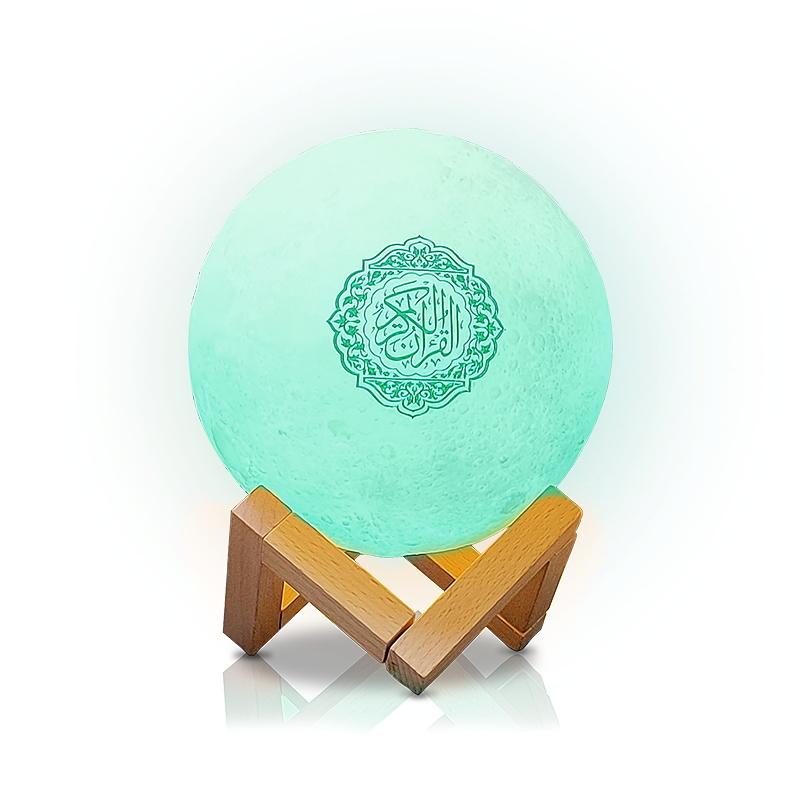 Coran Bluetooth Speaker Quran Players Lamp Colorful Moonlight LED Light Koran Speaker With Remote Control for Muslim