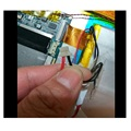 3.7V/3.8V Battery for Jumper EZpad 4S Tablet PC New Li-Polymer Rechargeable Accumulator Replacement 5 Lines+Plug