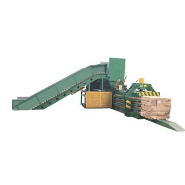 Full-automatic cardboard baler machine