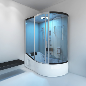 Luxury Bathroom Steam Shower Glass Room