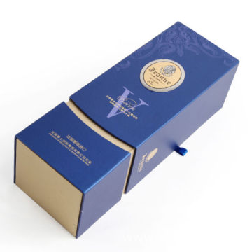 Custom Print New Design Wine Gift Packaging Box