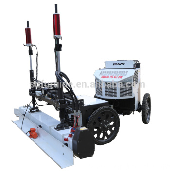 Mini Laser Screed For Concrete Floor With Elastic Tire Wheel FJZP-200