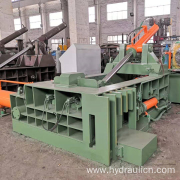 Push-out Scrap Aluminum Iron Steel Metal Packaging Machine