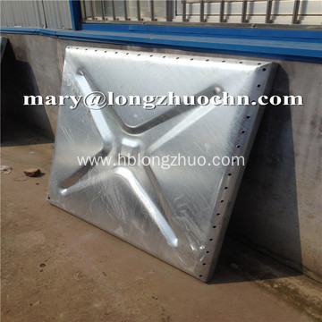 Hot Galvanized Steel Water Storage Tank 20000 Liter