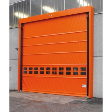 Stacked fast action high speed roller shutter