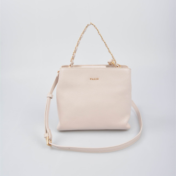 Small hand Bag Single Handle Mini Tote beige