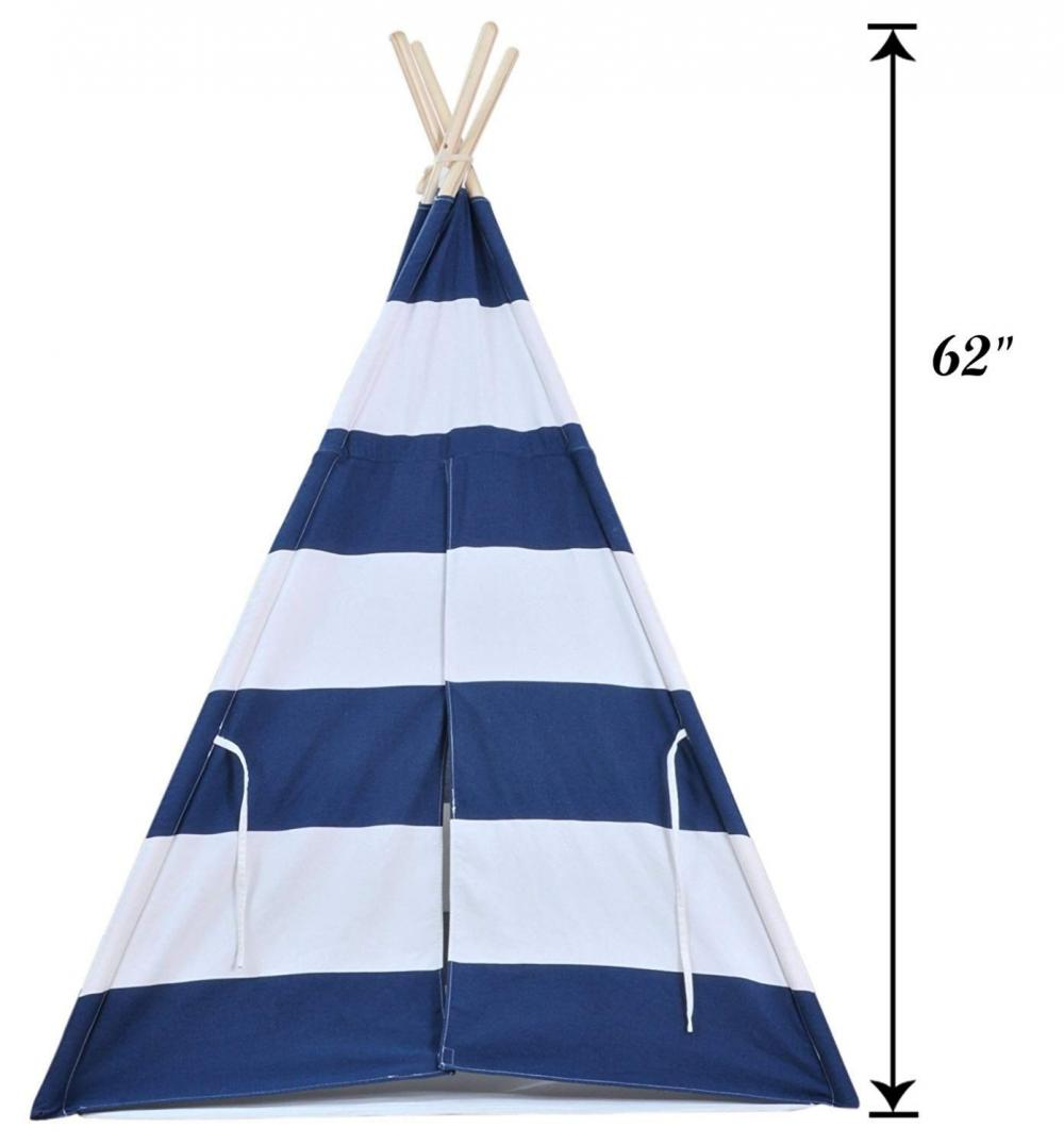Navy Blue Teepee Tent