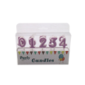 Cheap Glitter Number Candle/Party birthday Candle