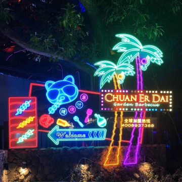 LED BUSINESS NEON LIGHT OUTDOOR