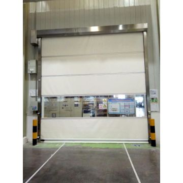 PVC High Speed Door With Servo Motor