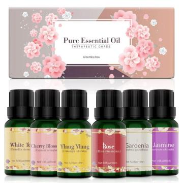Essential oil gift set 6*10ml