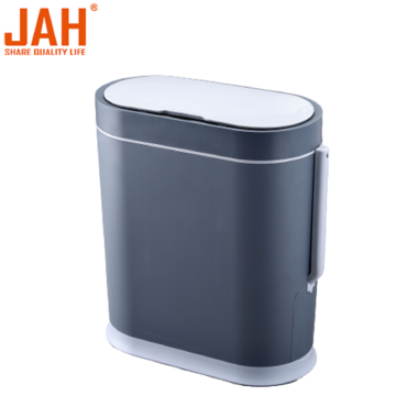 JAH Smart Induction Toilet Trash Bin Waterproof Dustbin