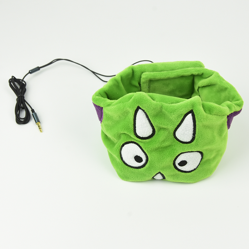Dinosaur Sleeping Headband Earphones Wired Headphones