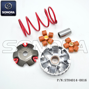 GY6-50 Performance variator set with spring (P/N:ST04014-0016) TOP QUALITY