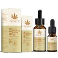 ALIVER Herbel Organic Hemp Seed Oil Edible Massage Essential Oil CBD Oil Soomthing Pressure Pain Improve Sleep Relieve Stress