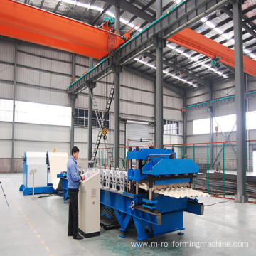Automatic Hydraulic Ridge Tile Forming Machine