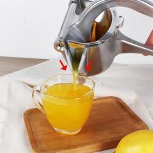 Manual Aluminum alloy Mini Lemon Fruit Squeezer Grinder Citrus Juicer Orange Kitchen Gadgets Cooking Tools Support Dropshipping