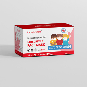 ASTM F2100 LEVEL1 Children Disposable Three-layer Face Mask
