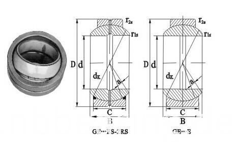 Radial Spherical Plain Bearings GE-ES Series