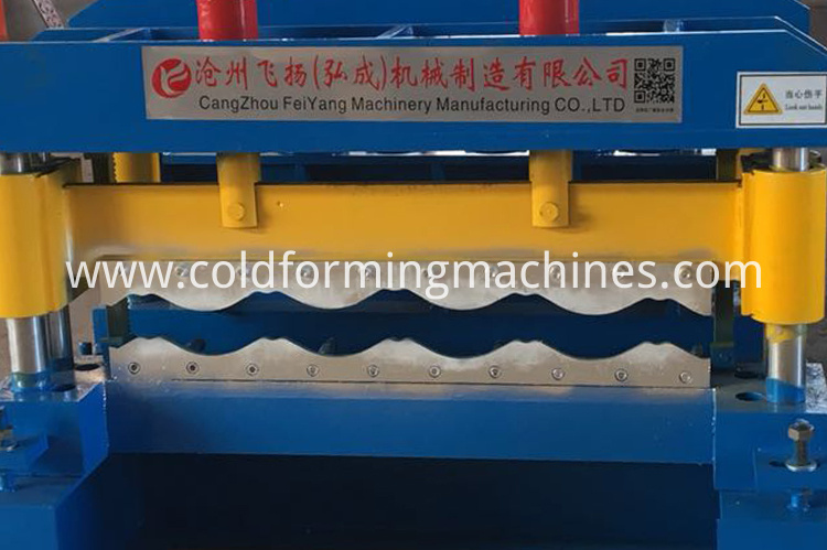 hydraulic glazed tile forming machine