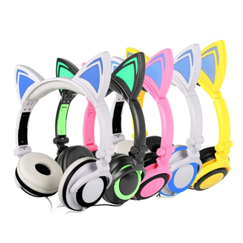 Great for party dj cute colorfull baby headphones